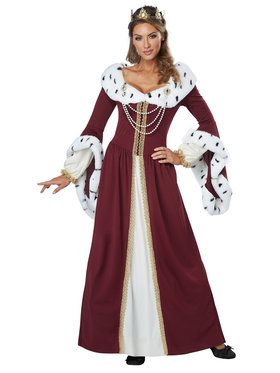 Royal Storybook Queen Adult