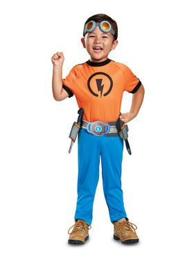 Rusty Rivets Rusty Classic Toddler Costume