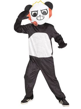 Ryan's Word Boys Cobo Panda Costume
