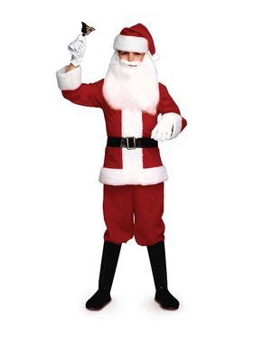 Santa Boy Kids Costume