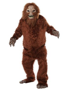 Sasquatch Big Mouth Adult Costume