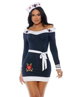 Sassy Adult Beloved Sailor Costume