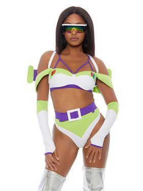 Sassy Adult To Infinity Costume