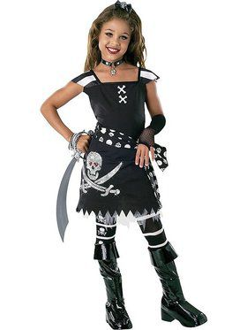 Scar-let Pirate Costume for Adults