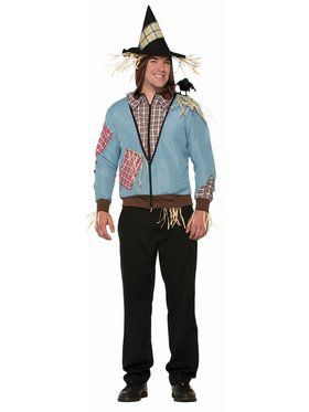 Scarecrow Hoodie Adult Costume