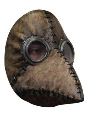 Scary Brown Plague Doctor Adult Mask