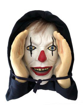 Scary Peeper Giggle Clown
