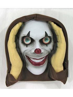 Lenticular Clown Scary Peeper Prop