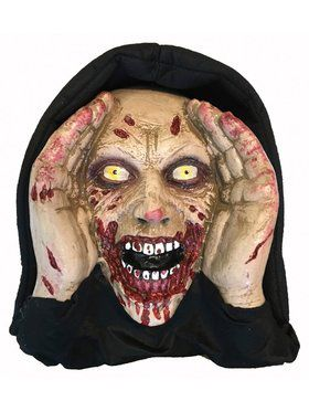 Scary Peeper Real Eyes Zombie