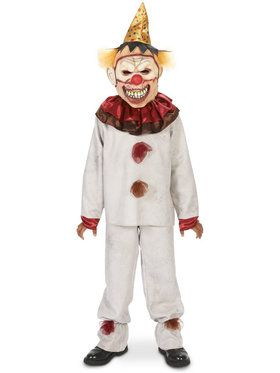 Scary the Carnival Clown Costume Child