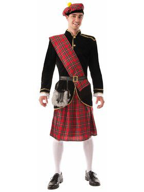 Scotsman - Standard Adult Costume