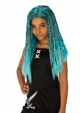 Sea Witch Costume Wig for Kids