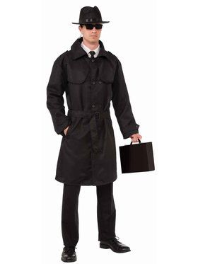 Secret Spy Trench Coat