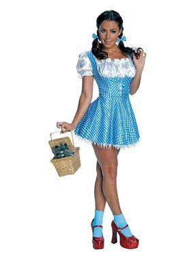 Secret Wishes Sequin Dorothy Adult Costumes Adult Costume