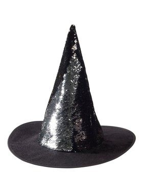 Sequin Magic Witch Hat