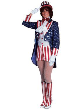 Sequin Miss Uncle Sam Adult