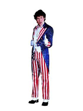 Sequin Uncle Sam Adult