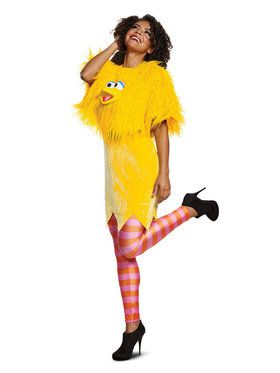 Sesame Street Big Bird Ladies Deluxe Adult Costume