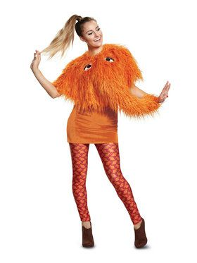 Sesame Street Snuffy Ladies Deluxe Adult Costume