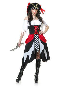 Seven Seas Pirate Lady Adult Costume