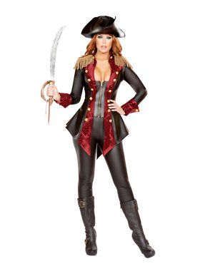 Sexy Adventurous Pirate Babe Womens Costume