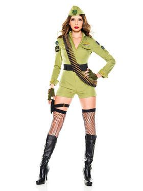Sexy Army Sergeant Costume