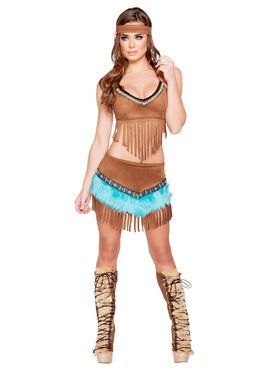 Sexy Beautiful Indian Babe Costume