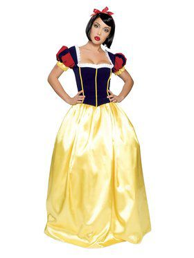 Sexy Deluxe Snow White Adult Costume