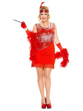 Fearless Sexy Flapper Costume