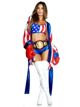 Sexy Boxer Costume Ideas