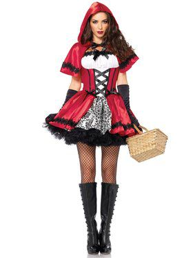 Red Riding Hood Gothic Costume