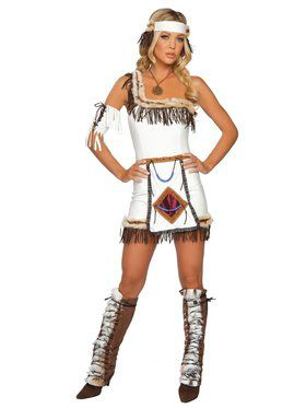 Sexy Indian Chief Adult Costume
