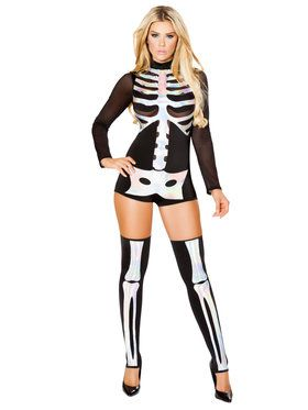 Sexy Jackie Skeleton Costume  sc 1 st  BuyCostumes.com : skeleton costumes female - Germanpascual.Com