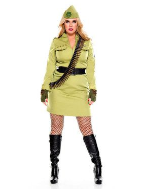 Sexy Military Cadet Costume
