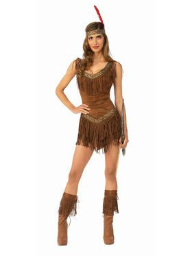 Native American Indian Noble Warrior Chief Men Costume