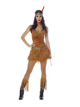 Sexy Native American Indian Maiden Adult