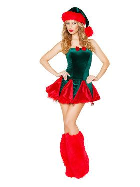 Sexy Naughty Elf Costume