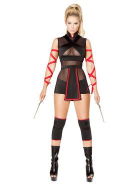 Sexy Ninja Striker Womens Costume