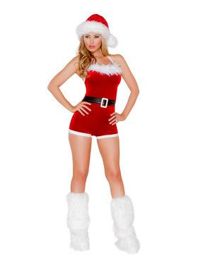 Sexy North Pole Brat Costume