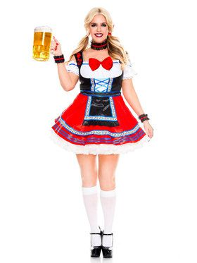 Sexy Oktoberfest Beer Babe Costume