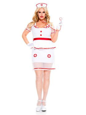 Sexy On Call Nurse Costume