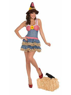 Sexy Scarecrow Adult Costume