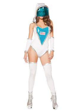 Sexy Space Commander Costume
