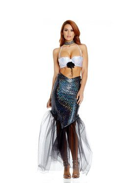 Sexy Superior Scales Mermaid Womens Costume