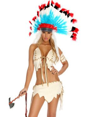 Sexy Tribal Tease Costume