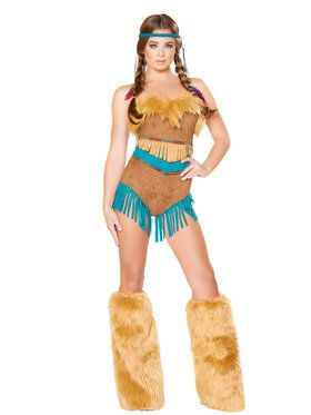 Sexy Tribal Vixen Costume