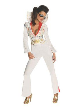 Sexy Womens Elvis Presley Costume