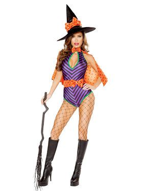 Sexy Womens Sweet Witch Costume