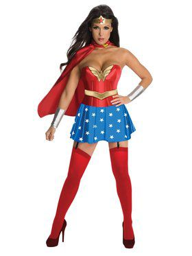 DC Sexy Wonder Woman Costume