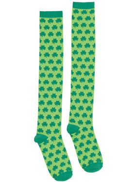 Shamrocks Knee-High Adult Socks